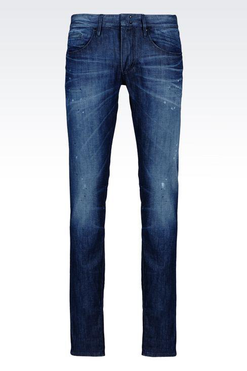 OFFICIAL STORE EMPORIO ARMANI - Jeans - Pantalons en jean on armani.com