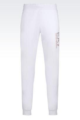 Armani Pants Men visibility line cotton trousers