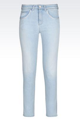 Armani Jeans Women skinny fit light wash jeans