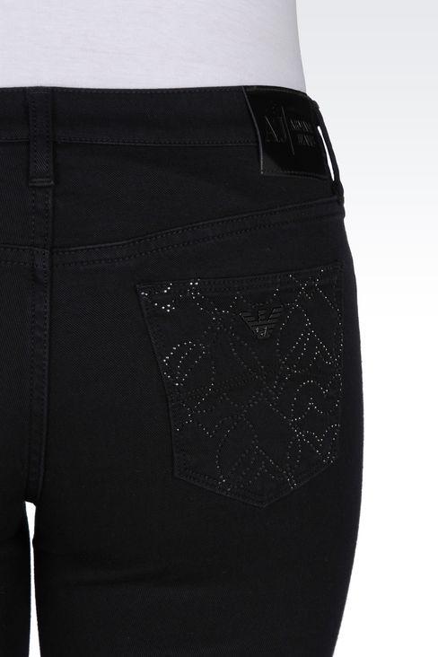 J06 SKINNY DARK WASH JEANS: Jeans Women by Armani - 5