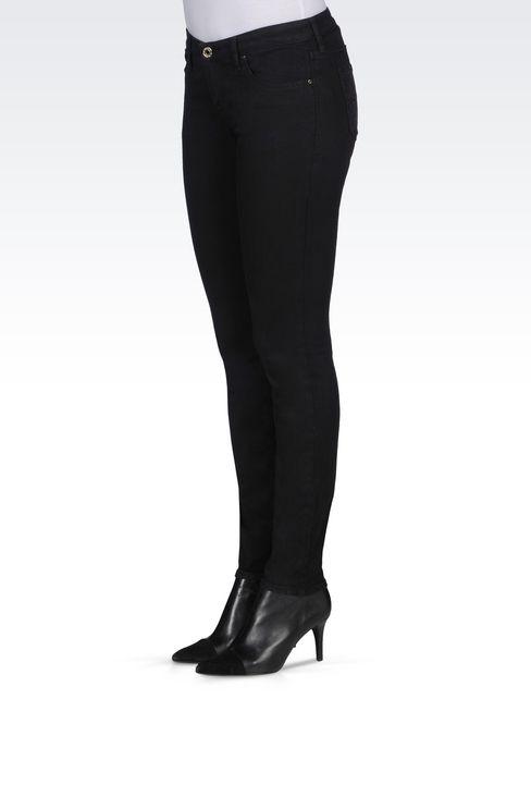 J06 SKINNY DARK WASH JEANS: Jeans Women by Armani - 3