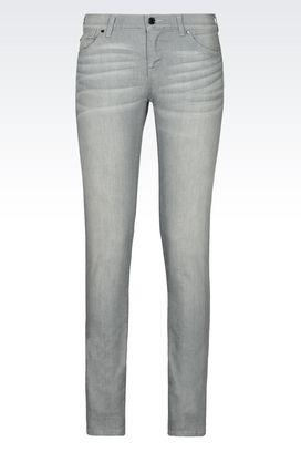 Armani Jeans Women j23 push up grey wash jeans