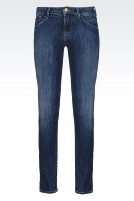 Armani Jeans Women j23 push up dark wash jeans