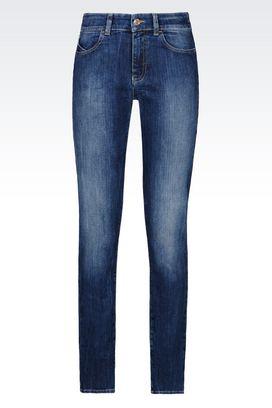 Armani Jeans Women j18 slim fit dark wash jeans