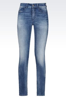 Armani Jeans 5 Tasche Donna j18 jeans slim fit light wash