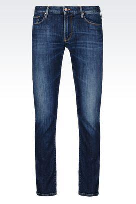 Armani Jeans Für Ihn j06 slim fit-jeans mit dunkler waschung