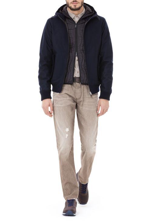 J06 SLIM FIT GREY WASH JEANS: Jeans Men by Armani - 2