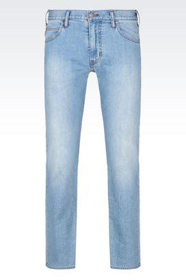 Armani Jeans Men j45 slim fit light wash jeans