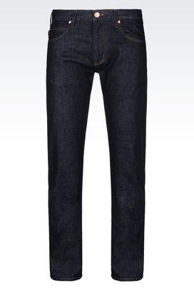 Armani Jeans Men j45 slim fit rinse wash jeans