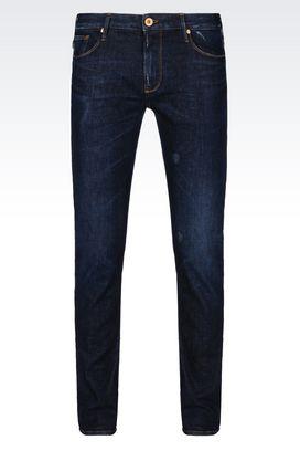 Armani Jeans Für Ihn j06 slim fit-jeans mit mittelblauer waschung