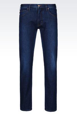 Armani Jeans Men j45 slim fit dark wash jeans