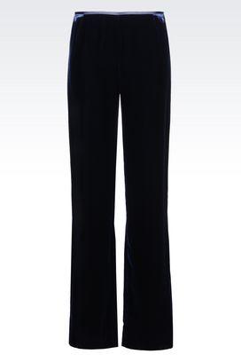 Armani Straight leg pants Women trousers in viscose