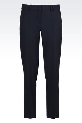 Armani Classic pants Women trousers in cady