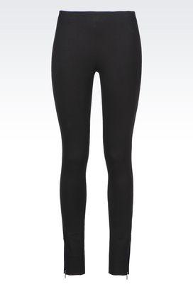 Armani Leggings Women jersey trousers