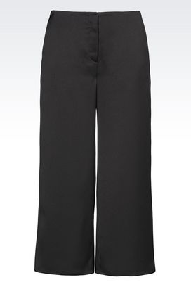 Armani 3/4-length trousers Women trousers in envers satin