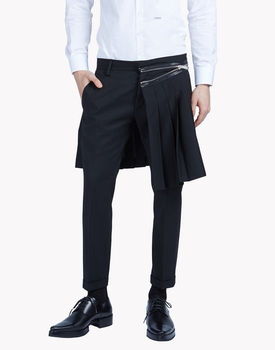 pleated punk admiral pants  pants Man Dsquared2