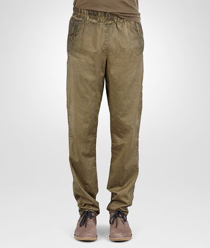 PANTS IN DARK SERGEANT POPLIN COTTON