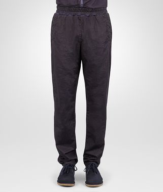PANTS IN DARK NAVY POPELINE COTTON