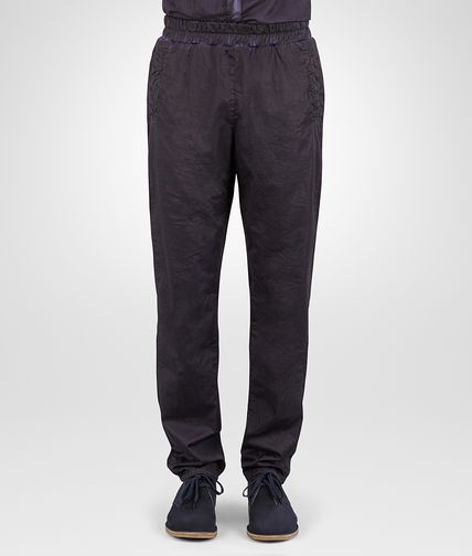 PANTS IN DARK NAVY POPLIN COTTON