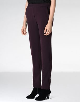 Twill jersey trousers
