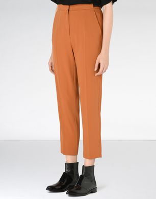 Fluid polyester trousers