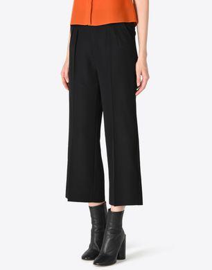 Loose-fit virgin wool trousers