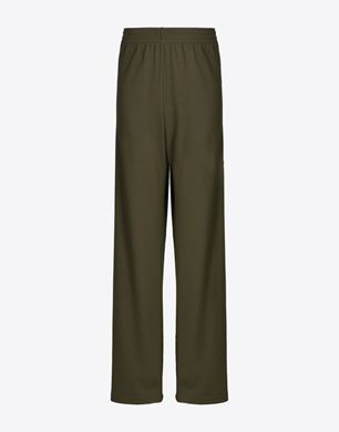 Loose-fit trousers with button detail