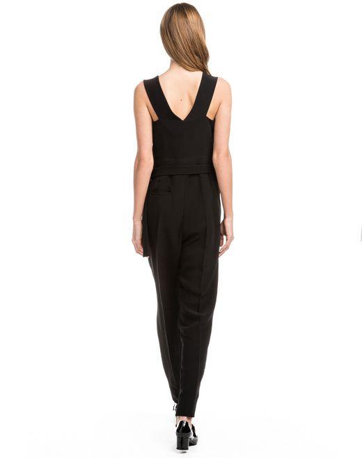 lanvin sleeveless trouser jumpsuit women