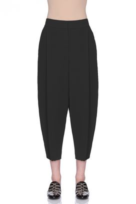 Armani Trousers Women trousers in technical sablé