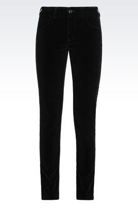 Armani 5 pockets Women j20 skinny black wash jeans