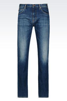 Armani Jeans Men j45 slim fit medium wash jeans
