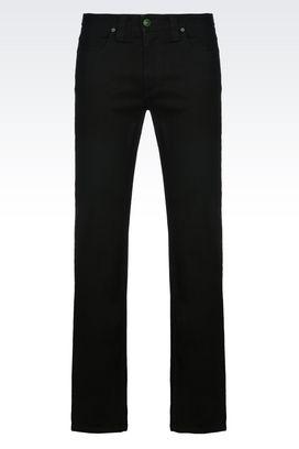 Armani Jeans 5 Tasche Uomo 5 tasche regular fit dark wash