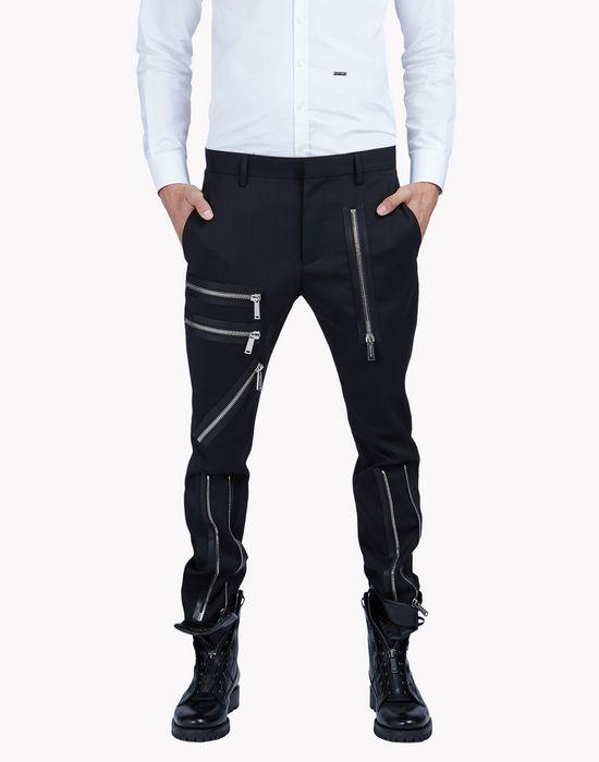 multi zip pants pants Man Dsquared2