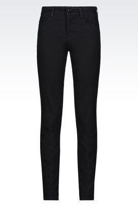 Armani Jeans Women j18 slim fit black wash jeans
