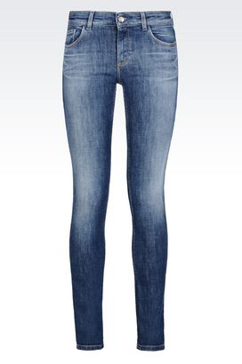 Armani Jeans Women dakota super skinny fit jeans