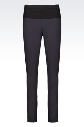 Armani Low-rise pants Women pants