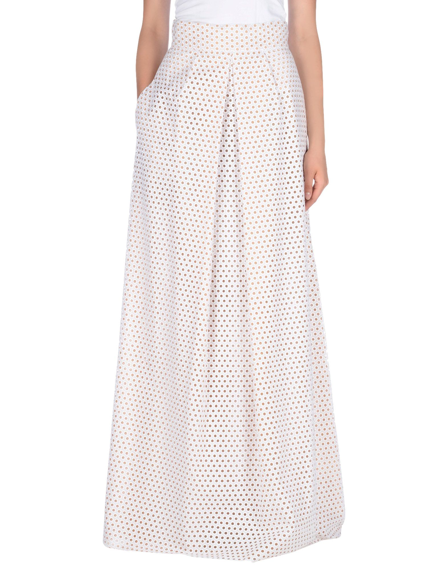 michael kors female  michael kors collection long skirts