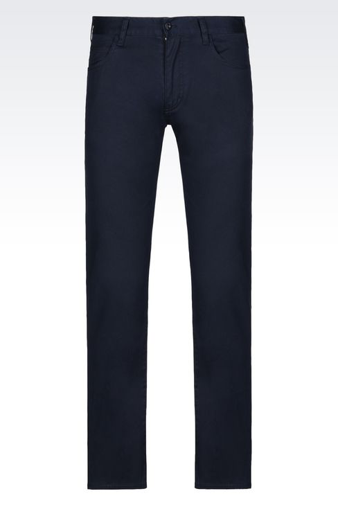 OFFICIAL STORE ARMANI JEANS - Pantalons - 5 poches on armani.com
