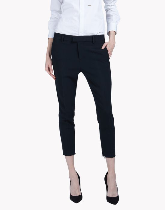 alpha cool girl cropped pants pants Woman Dsquared2
