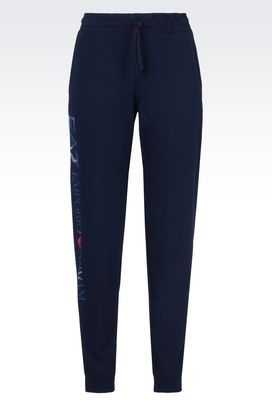 Armani Pants Women fleece trousers