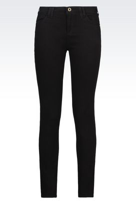 Armani Jeans Women j28 skinny black wash jeans