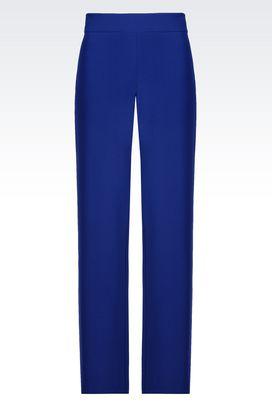 Armani Wide-leg trousers Women trousers in cady
