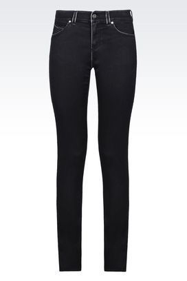 Armani Jeans Women mischa skinny fit jeans