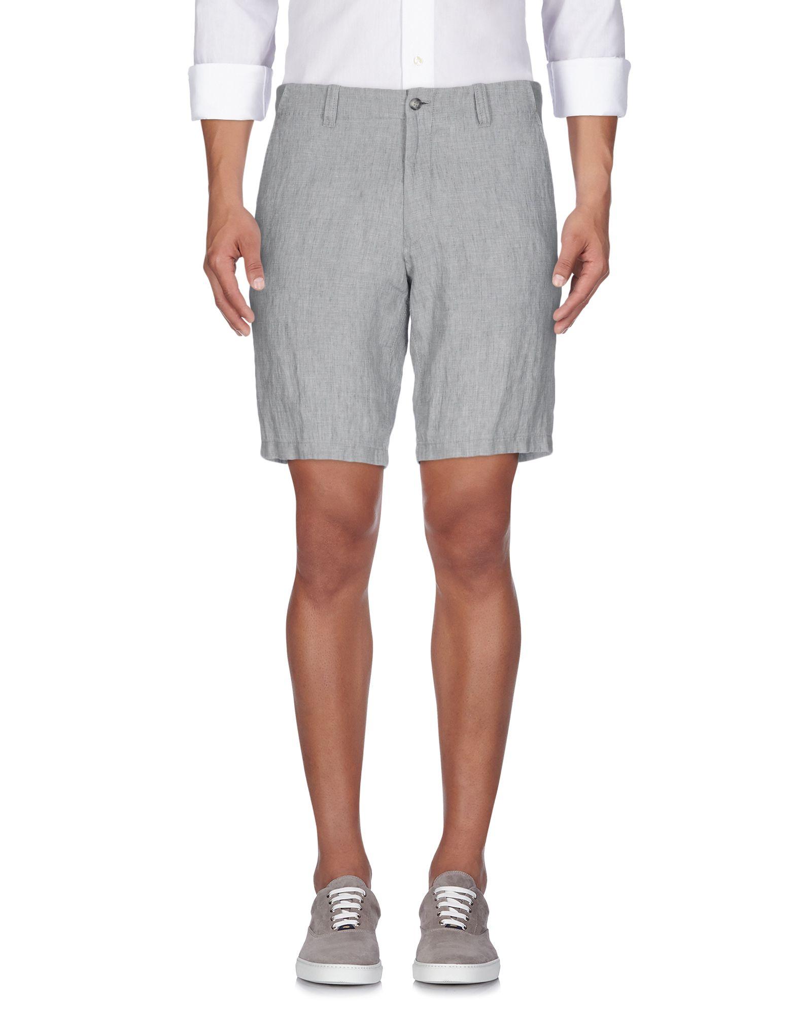 TIGER OF SWEDEN Herren Bermudashorts Farbe Grau Größe 3