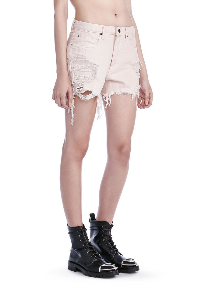ALEXANDER WANG SHORTS Women ROMP OVERSIZED SHORTS