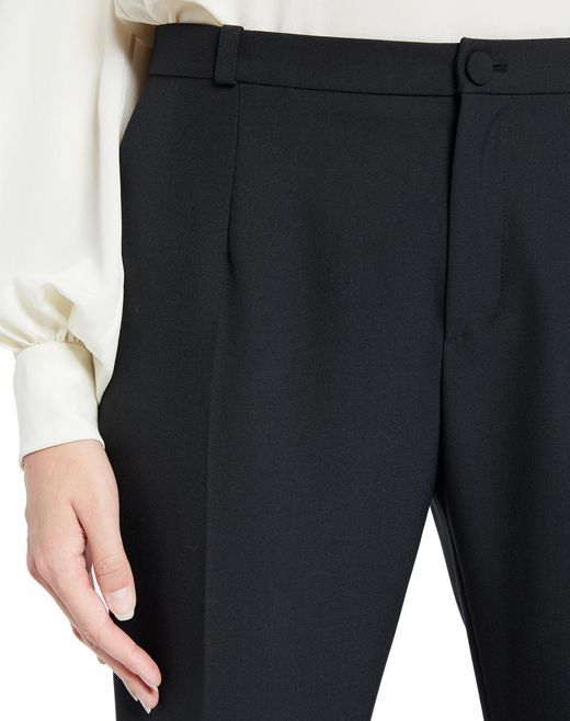 lanvin hemp canvas pants women