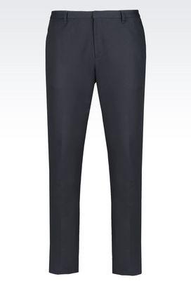 Armani Trousers Men trousers
