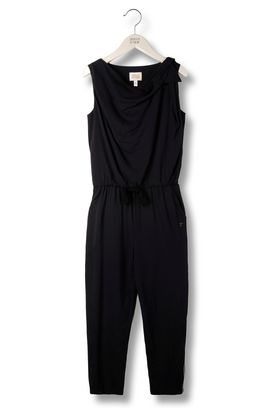 Armani Overalls Women draped jersey jumpsuit with bow