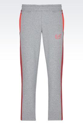 Armani Pants Men fleece trousers