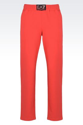 Armani Pants Men stretch cotton trousers